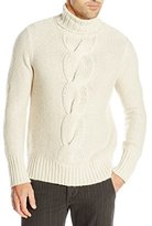 Nautica Men's Cable Turtle Neck Sweater
