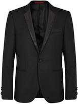 Hugo Adrison Embellished Wool Tuxedo Jacket