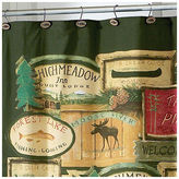 Avanti Rather Be Fishing Shower Curtain