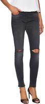 3x1 Women's Five Pocket Mid Rise Skinny Jean