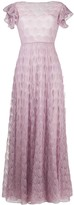 Missoni embroidered flared maxi dress
