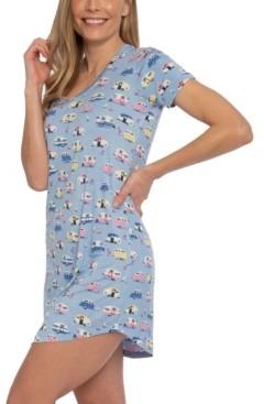Munki Munki Nite Nite Camper Sleepshirt Nightgown, Online Only