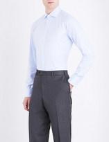 Turnbull & Asser Basketweave slim-fit cotton shirt