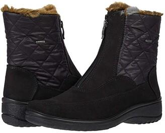 ara Maeko (Black Kai-Tex/Rombo) Women's Boots