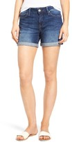 Mavi Jeans Women's Marla Roll Cuff Denim Shorts