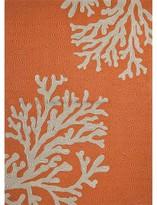 Jaipur Indoor/Outdoor Coral Rug - Orange