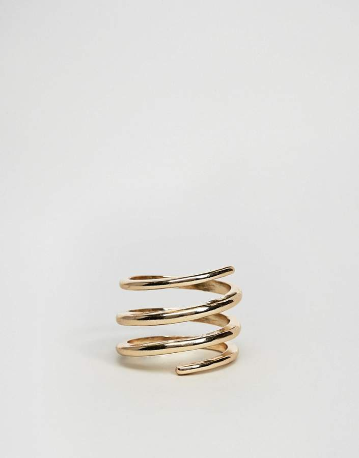 Asos Sleek Swirl Ring