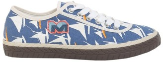 Marni Printed Canvas Sneakers