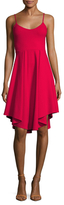 Susana Monaco Sonia Pleated Fit And Flare Dress