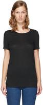 Etoile Isabel Marant Black Linen Kilian T-Shirt