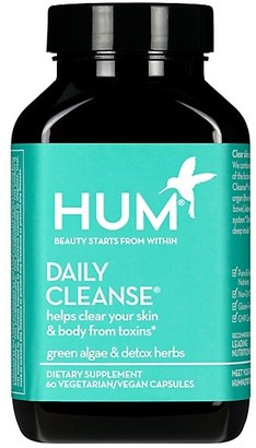 Hum Nutrition Daily Cleanse Clear Skin & Acne Supplement