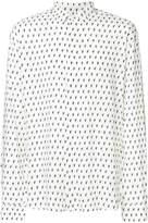 Saint Laurent micro-print shirt