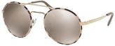 LUXOTTICA GR Prada 51SS Round Sunglasses