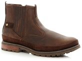 Caterpillar Dark Brown Leather Boots