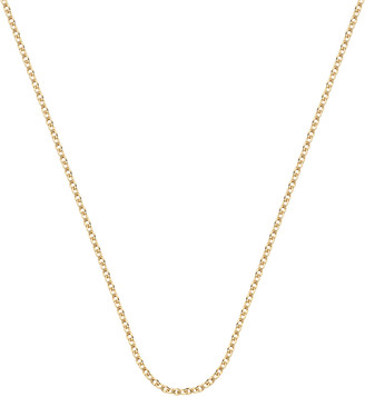 """Monica Vinader Rolo Chain 24""""/61cm with adjuster"""