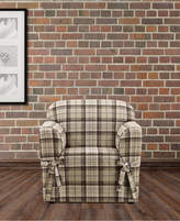 Sure Fit CLOSEOUT! Highland Plaid 1-Pc. Chair Slipcover