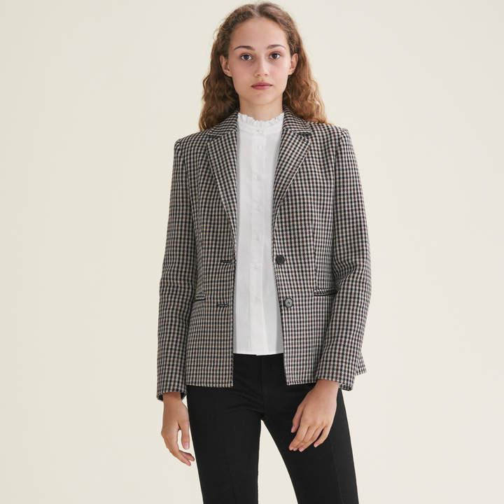 Maje Fitted tailored jacket