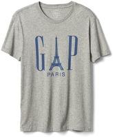 Gap Logo Eiffel Tower crewneck tee