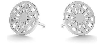 Daixa Somed Mini Kalei Silver Earrings