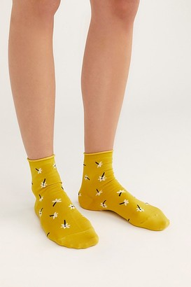 Hansel from Basel Osmanthus Short Crew Socks