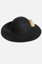 Fashion to Figure Olina Felt Floppy Hat