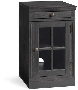 "Pottery Barn Livingston 17.5"" Glass Door Cabinet"