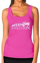 TeeStars - EVOLUTION 4x4 - Gift for Off Road Lovers - Cool Women Tank Top