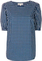 MICHAEL Michael Kors checked design blouse