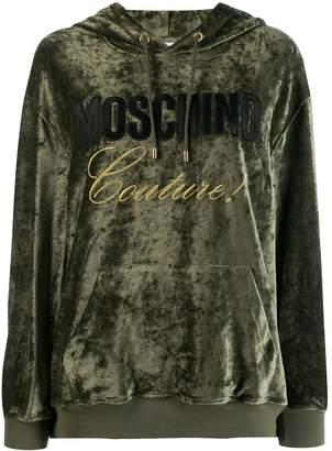Moschino Couture! logo hoodie