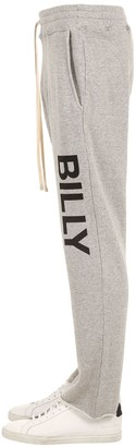 Billy DISTRESSED CROPPED COTTON SWEATPANTS