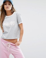 Juicy Couture Juicy By Knt Malibu Graphic Tee