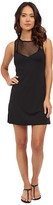 Vince Camuto Luxe Mesh T-Shirt Mesh Dress Cover-Up