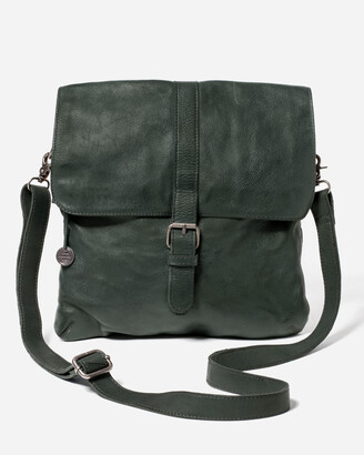Stitch & Hide - Women's Green Leather bags - Berlin Bag - Size One Size at The Iconic
