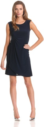 Star Vixen Women's Sleeveless Side Cinch Dress