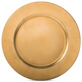 Threshold Charger Plate with Stand 12.8in Plastic Metallic Gold
