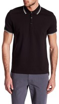Kenneth Cole New York Contrast Trim Polo