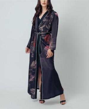 KILO BRAVA Women's Kimono Maxi Robe