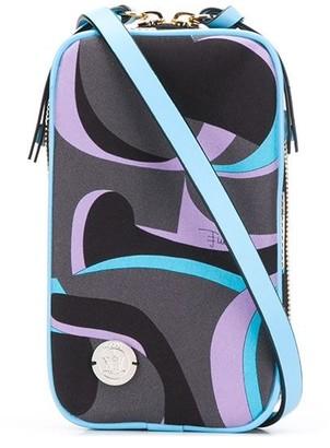 Emilio Pucci x Koche EP20 Bicolor-print crossbody bag