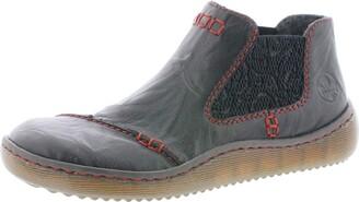 Rieker Women Ankle Boots L8491 Ladies Chelsea Boots Boots Half Boots Ankle Boots Bootie Slip Boots Lined Winter Boots