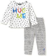 Joules Baby Boys Newborn-12 Months Byron Hug Me Top & Striped Pants Set