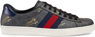 Gucci Men's Ace GG Supreme tigers sneaker