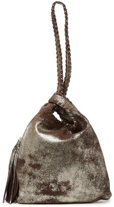 Hobo Blossom Leather Shoulder Bag
