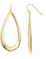 Argentovivo Oval Drop Earrings
