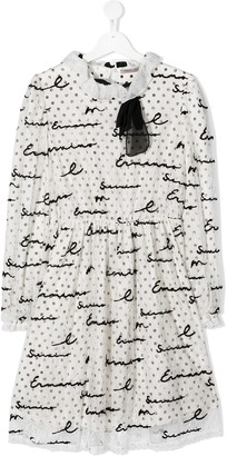 Ermanno Scervino TEEN embroidered lace dress