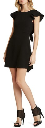 BCBGeneration Ruffle Sleeve Dress