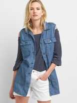 Gap TENCEL denim utility vest