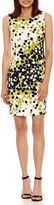 Ronni Nicole Sleeveless Dots Sheath Dress-Petites