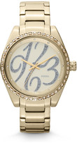 Fossil Carissa Three-Hand Stainless Steel Watch - Gold-Tone