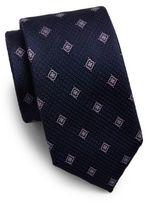 Saks Fifth Avenue Floating Floral Silk Tie