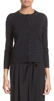 Marc Jacobs Women's Polka Dot Wool Cardigan